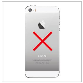iPhoneリアパネル修理