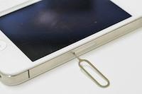 iPhoneのSIMカードの取り出し方