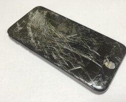 iPhone6ガラス修理前