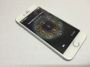iPhone6ガラス割れ修理