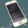 iPhoneSE 水没 バッテリー修理