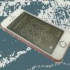 iPhoneSEガラス修理