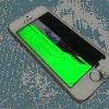 iPhone5sガラス液晶破損 パネル修理